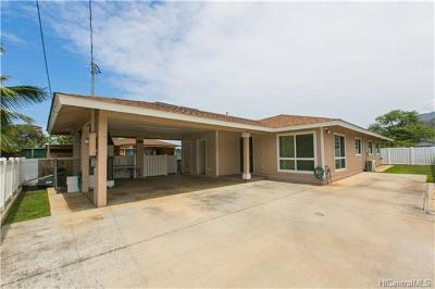Waianae Single Family Home For Sale: 85-745b Lihue Street