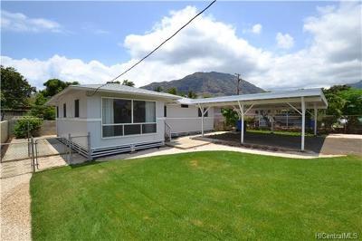Waianae HI Single Family Home For Sale: $465,000