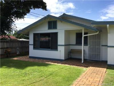 Haleiwa Single Family Home For Sale: 66391 Haleiwa Road