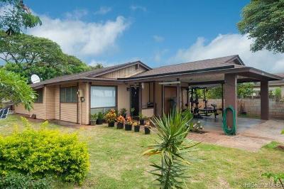 Waipahu Single Family Home For Sale: 94-711 Kupuna Loop