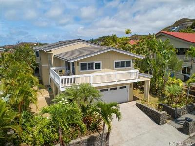 Kailua Single Family Home For Sale: 1279 Aulepe Street