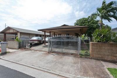Waipahu Single Family Home For Sale: 94-775 Kupuohi Street