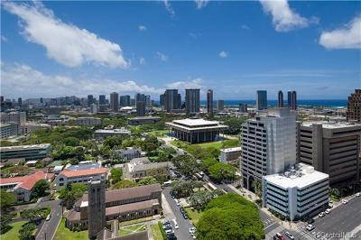 Honolulu County Condo/Townhouse For Sale: 1200 Queen Emma Street #2712
