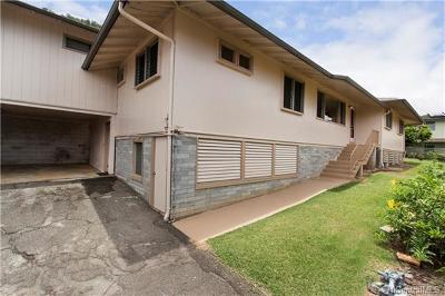 Honolulu Single Family Home For Sale: 2461 Hihio Place
