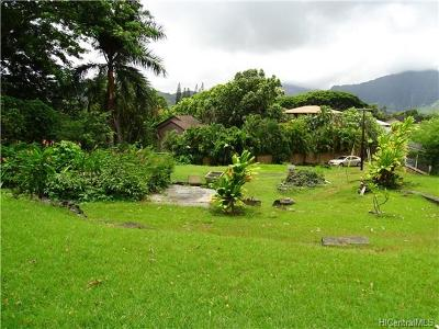 Kaneohe Residential Lots & Land For Sale: 45-1021c Wailele Road