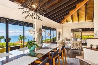 Honolulu Single Family Home For Sale: 718 Kaulana Place