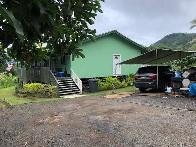 Kaneohe Single Family Home For Sale: 48-400 Waiahole Valley Road