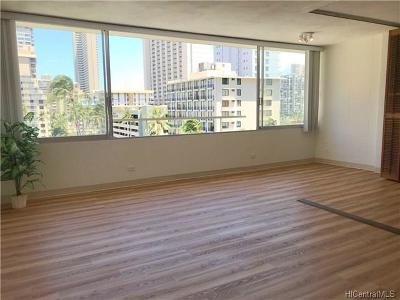 Honolulu Condo/Townhouse For Sale: 435 Seaside Avenue #702