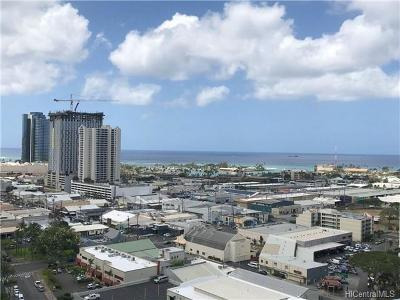 Honolulu HI Condo/Townhouse For Sale: $588,000