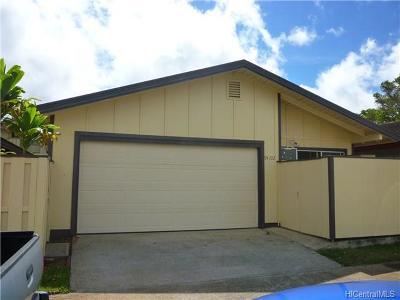 Waipahu Single Family Home For Sale: 94-772 Kaao Place