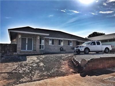 Waipahu Single Family Home For Sale: 94-929 Lumiloke Street