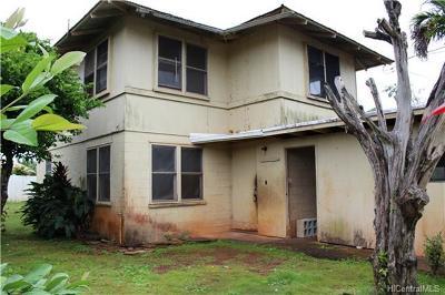 Wahiawa Single Family Home For Sale: 1213 Kaala Avenue