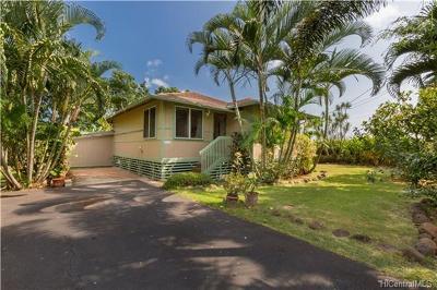 Waialua Single Family Home In Escrow Showing: 66-341 Kaamooloa Road #G