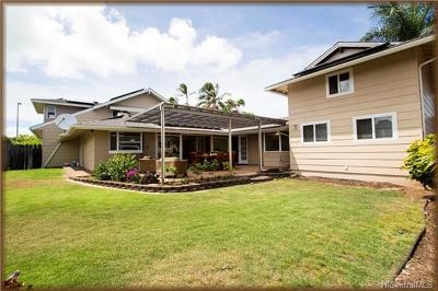 Kailua Single Family Home For Sale: 268 Aikahi Place