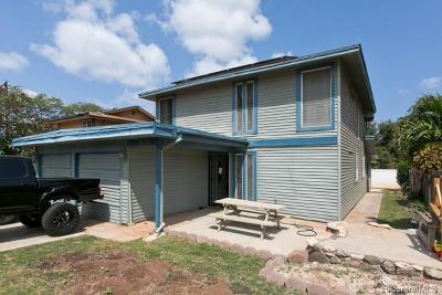 Waianae Single Family Home For Sale: 86-354 Hale Elua Street