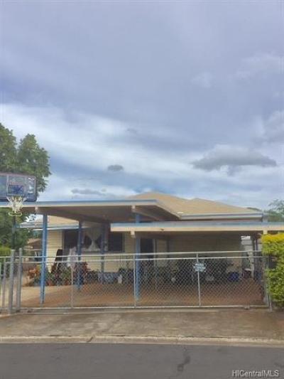 Waipahu Single Family Home For Sale: 94-354 Niau Street