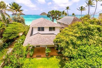 Honolulu County Single Family Home For Sale: 1414 Mokulua Drive