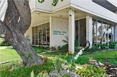 Honolulu Condo/Townhouse For Sale: 2345 Ala Wai Boulevard #908