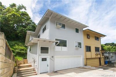 Pearl City Single Family Home In Escrow Showing: 2531 Akepa Street