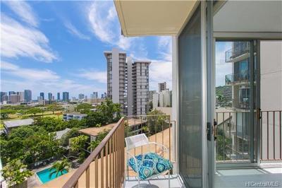 Honolulu Condo/Townhouse For Sale: 1634 Makiki Street #703