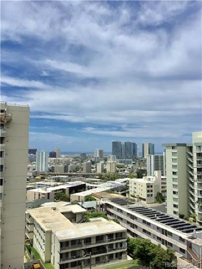 Honolulu County Condo/Townhouse For Sale: 1015 Wilder Avenue #901