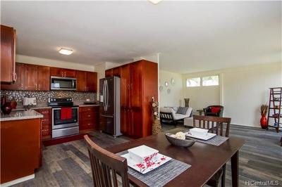 Waipahu Single Family Home In Escrow Showing: 94-616 Loaa Street
