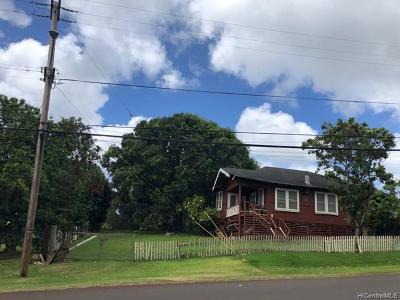 Haleiwa Single Family Home For Sale: 59-290 Pupukea Road