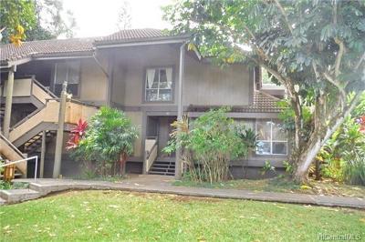 Kaneohe Condo/Townhouse For Sale: 46-318 Haiku Road #52