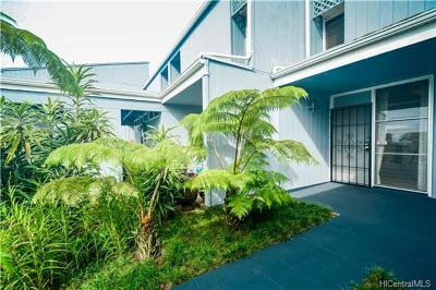 Mililani Condo/Townhouse For Sale: 95-455 Kuahelani Avenue #105