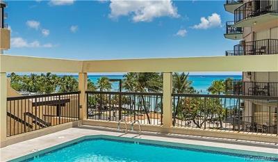 Honolulu County Condo/Townhouse For Sale: 2470 Kalakaua Avenue #504