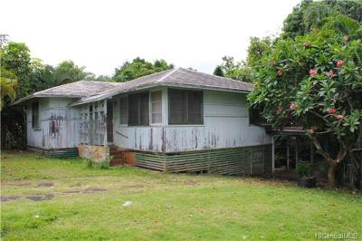 Kaneohe Single Family Home In Escrow Showing: 45-519 Pahia Road