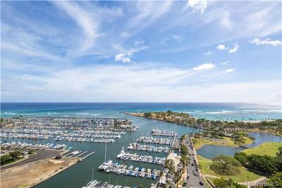 Honolulu County Condo/Townhouse In Escrow Showing: 1600 Ala Moana Boulevard #3100