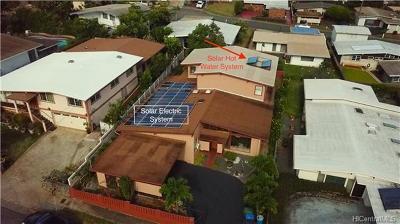 Single Family Home For Sale: 1783 Piikea Street
