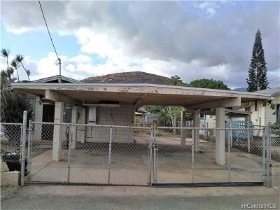 Waianae Single Family Home In Escrow Showing: 87-144 Keliikipi Street