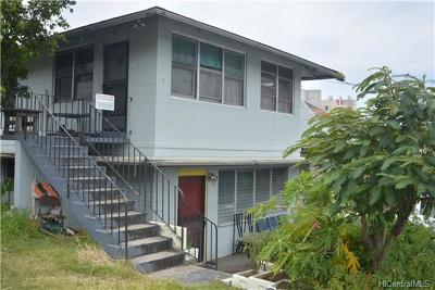 Honolulu HI Multi Family Home For Sale: $1,495,000