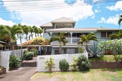 Waialua Single Family Home For Sale: 67-409 Alahaka Street
