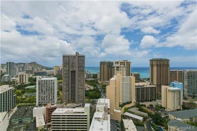 Hawaii County, Honolulu County Condo/Townhouse In Escrow Showing: 400 Hobron Lane #3407