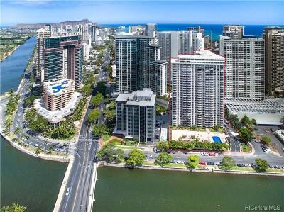 Honolulu Condo/Townhouse For Sale: 1717 Ala Wai Boulevard #2408