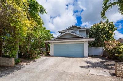 Waipahu Single Family Home For Sale: 94-1090 Lelehu Street