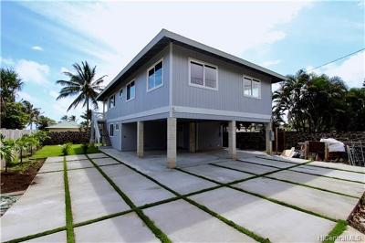 Hauula Single Family Home For Sale: 54-339 Kamehameha Highway
