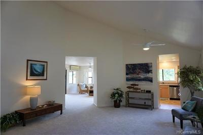 Honolulu County Single Family Home In Escrow Showing: 95-1006 Meanui Street