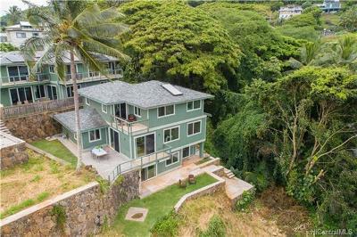 Kaneohe Single Family Home For Sale: 47-433 Kamehameha Highway #2
