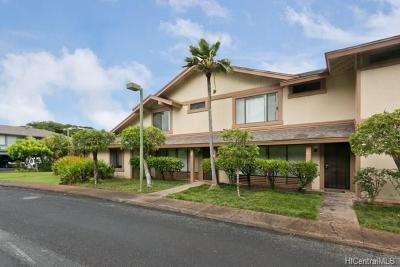 Pearl City Condo/Townhouse In Escrow Showing: 98-1750 Kaahumanu Street #48B