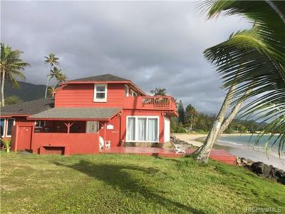 Hauula Single Family Home For Sale: 53-633 Kamehameha Highway