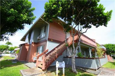 Ewa Beach Condo/Townhouse For Sale: 91-1017 Puahala Street #T