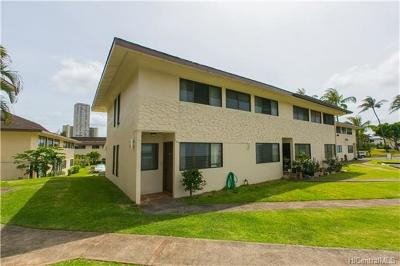 Aiea Condo/Townhouse For Sale: 98-421 Kaonohi Street #291