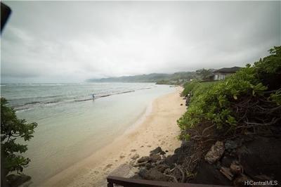 Laie Single Family Home For Sale: 55-347 Kamehameha Highway