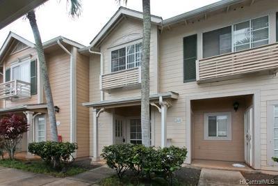 Waipahu Condo/Townhouse In Escrow Showing: 94-696 Lumiauau Street #RR6