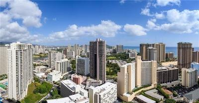 Hawaii County, Honolulu County Condo/Townhouse For Sale: 411 Hobron Lane #3805
