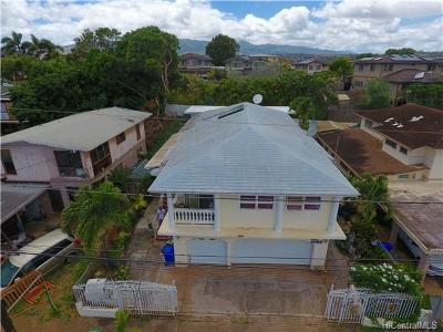 Waipahu Single Family Home For Sale: 94-029 Poailani Circle